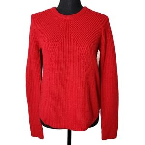 Red Wool Blend Sweater by Cynthia Rowley Size M